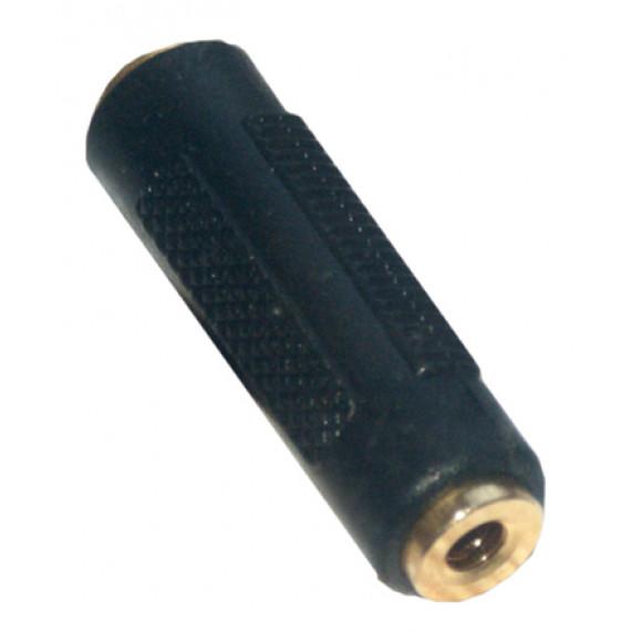 MCL Coupleur stéréo JACK 3.5mm femelle / femelle haute qualité
