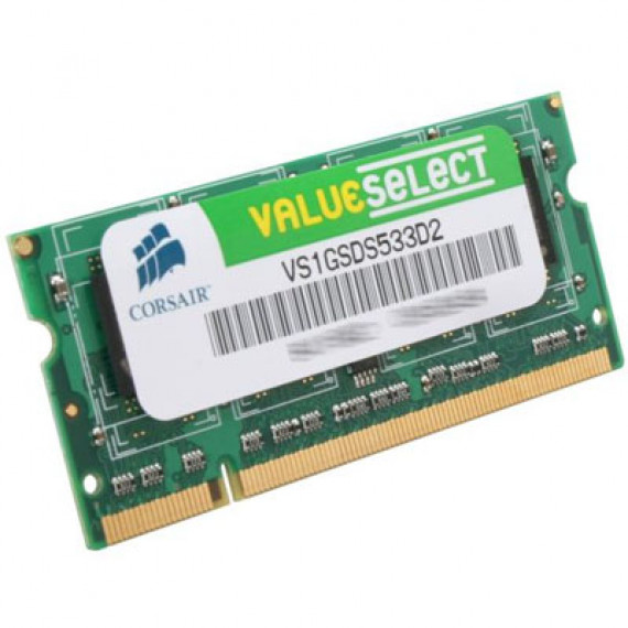CORSAIR Value SO-DIMM 1 Go DDR2 533 MHz
