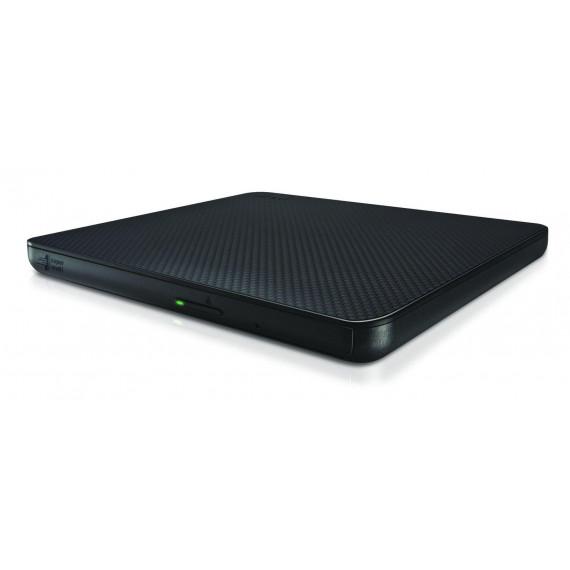 Graveur USB2 Externe Slim LG GP60NB60 DVDRW Noir