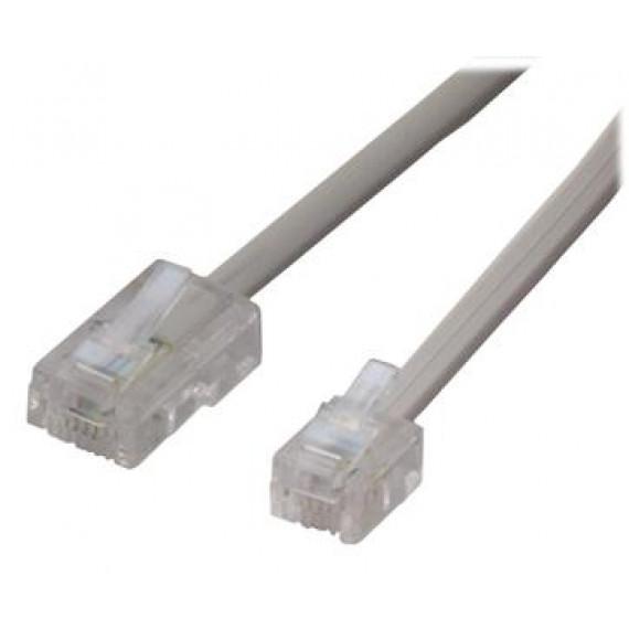 MCL Câble RJ11 (6/4) / RJ45 - 5m