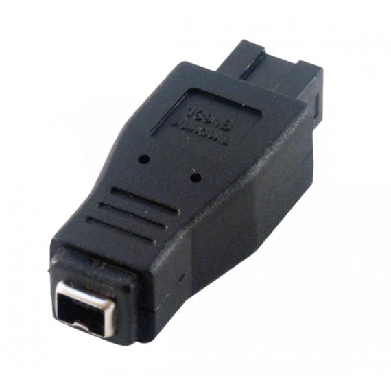 MCL Adaptateur Firewire 800 / 400 - 9 contacts mâle / 4 contacts femelle