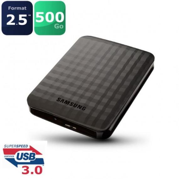 Disque dur externe SAMSUNG M3 500 Go 2,5 Usb 3.0 et 2.0 dont RCP : 11 €