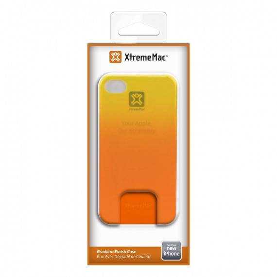 XTREMEMAC Coque MICROSHIELD FADE pour iPhone 5 - Yellow/Orange