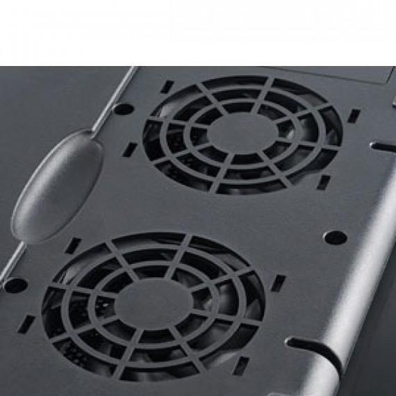 """Ventilateur pour ordinateur portable Akasa Echo AK-NBC-29BK - Noir (de 12"""" à 15.4"""")"""