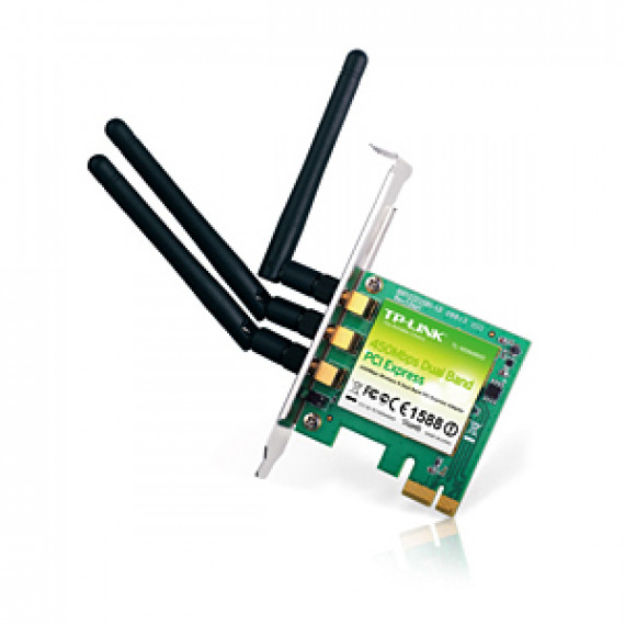 TP-LINK TL-WDN4800 - Carte PCI Express Wireless N 802.11n Dual Band 450 Mbps