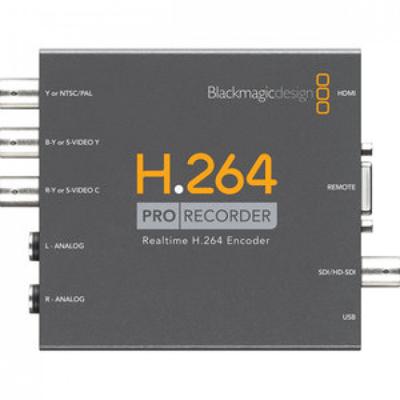 Boîtier d'acquisition externe Haute Définition USB 2.0 BLACKMAGIC DESIGN PRO RECORDER H.264