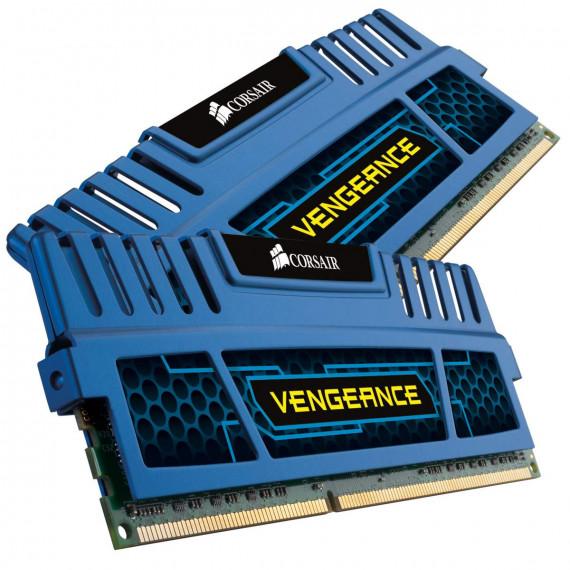 CORSAIR Vengeance Series 16 Go (2x 8 Go) DDR3 1600 MHz CL10 Bleu