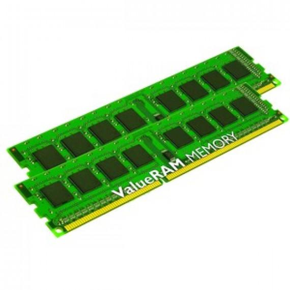 Mémoire RAM Kingston ValueRAM 8 Go (2 x 4 Go) DDR3 1600 MHz CL11 SR X8