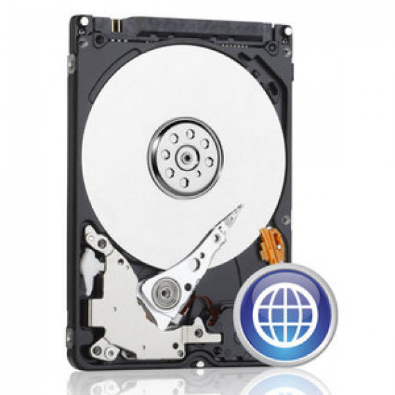 "Disque dur 2.5"" WD BLUE MOBILE 320 GO 7 MM (WD3200LPCX) 5400 RPM 16 Mo Serial ATA III 6 Gb/s"