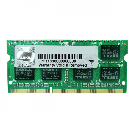 GSKILL SO-DIMM 4 Go DDR3 1600 MHz CL11