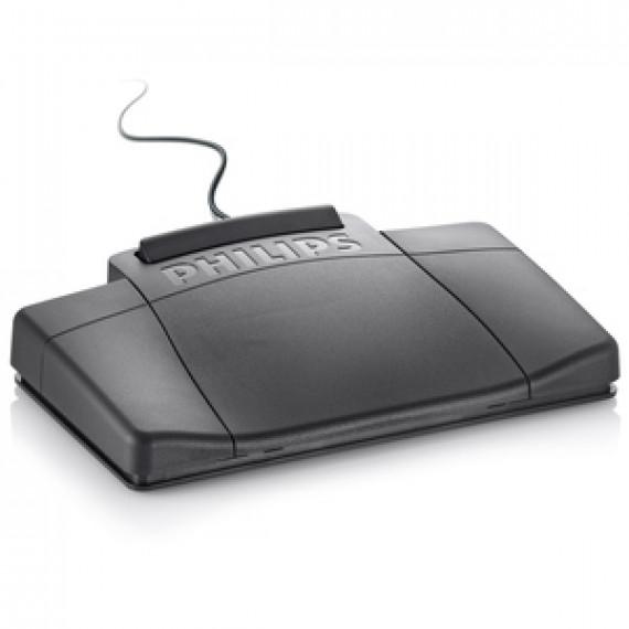Pédale de commande Philips LFH2210 pour système de dictée