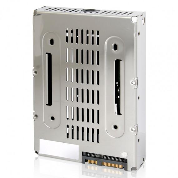 "Convertisseur 2.5"" à 3.5''  ICY DOCK EZConvert Air MB382IP-3B pour disque SSD & HDD SAS"