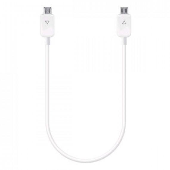 Accessoire divers pour téléphone portable - Samsung Power Sharing Cable Adapter Galaxy S5 - Blanc - Câble de partage de batterie