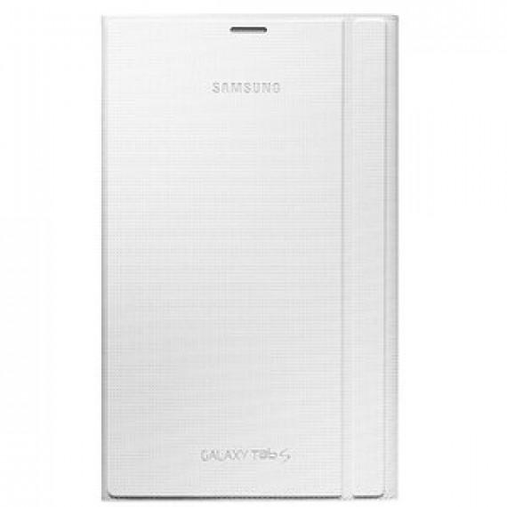 """Accessoire divers pour ordinateur portable - Samsung Book Cover EF-BT700W Blanc - Etui de protection pour Galaxy Tab S 8.4"""""""