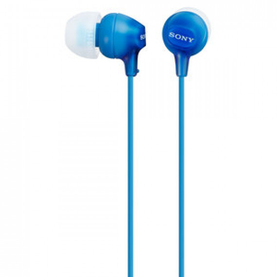 Ecouteurs Sony MDR-EX15LP Bleu  intra-auriculaires