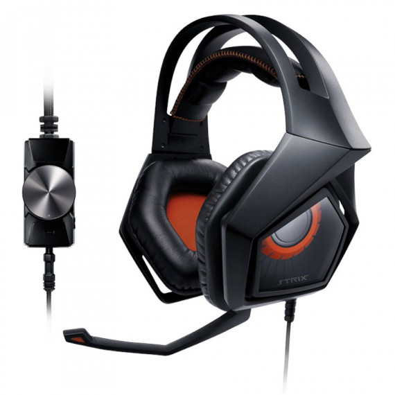 Casque-micro ASUS Strix PRO pour gamer à réduction active de bruit