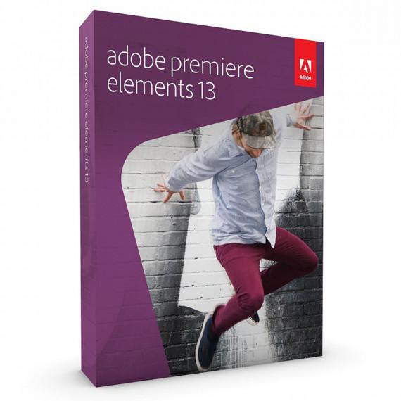 Logiciels de montage vidéo  Adobe Premiere Elements 13 (français, WINDOWS / MAC OS) - 1 utilisateur