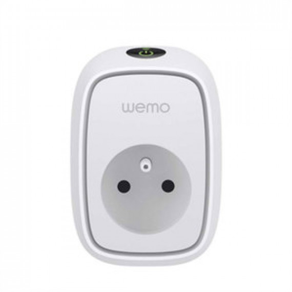 Interrupteur électrique contrôlable à distance Belkin WeMo Insight Switch (compatible Android et iOS)