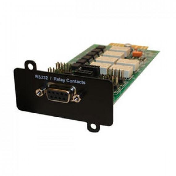 Carte Eaton Contacts Relay-MS avec port RS232 pour onduleurs Eaton