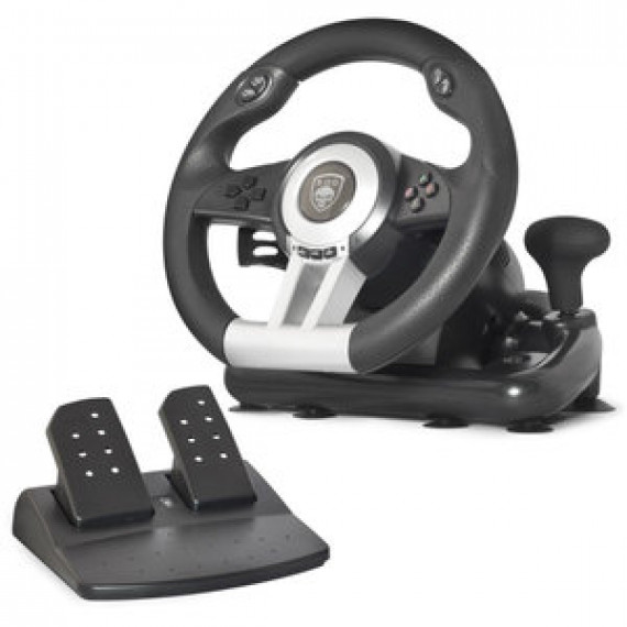 Volant Spirit of Gamer Race Wheel Pro 2 - Ensemble de simulation avec levier de vitesse (compatible PC / PlayStation 3 / PlayStation 4 / Xbox One)