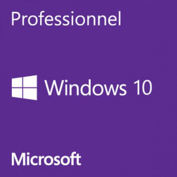Système d'exploitation Microsoft Windows 10 Professionnel 32 bits OEM Get Genuine Kit Licence de mise en conformité de Windows