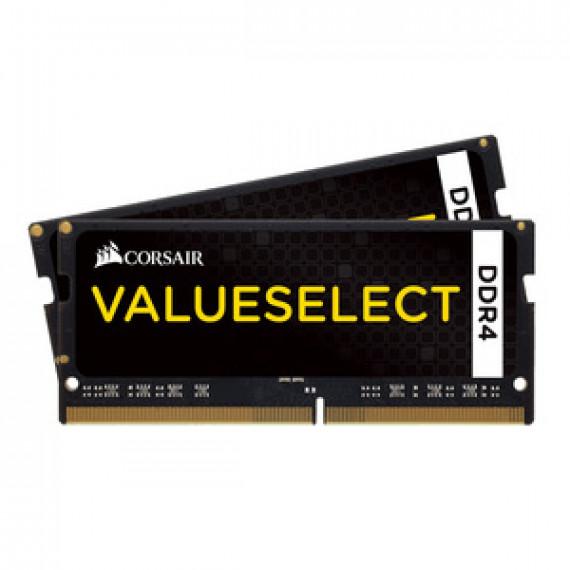 Mémoire PC Corsair Value Select SO-DIMM DDR4 32 Go (2 x 16 Go) 3000 MHz CL16 - Kit Dual Channel RAM DDR4 PC4-24000 - CMSX32GX4M2A3000C16