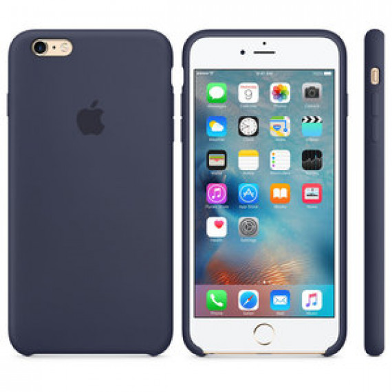 APPLE COQUE EN SILICONE BLEU NUIT APPLE IPHONE 6S PLUS