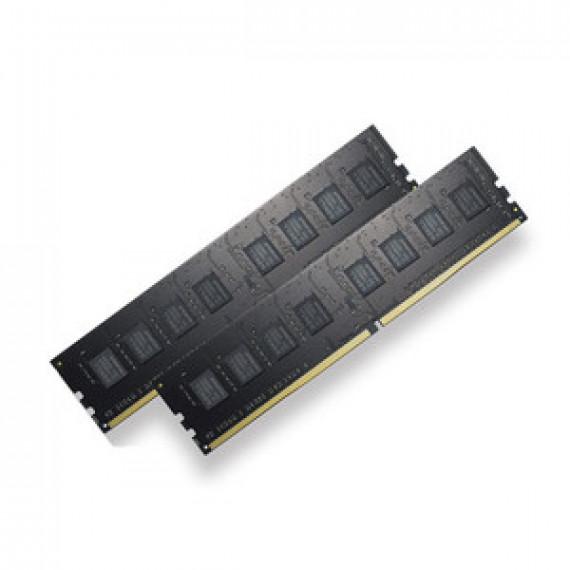 Memoire RAM G.Skill RipJaws 4 Series 8 Go (2x 4 Go) DDR4 2400 MHz CL17 - Kit Dual Channel 2 barrettes de RAM DDR4 PC4-19200 - F4-2400C17D-8GNT