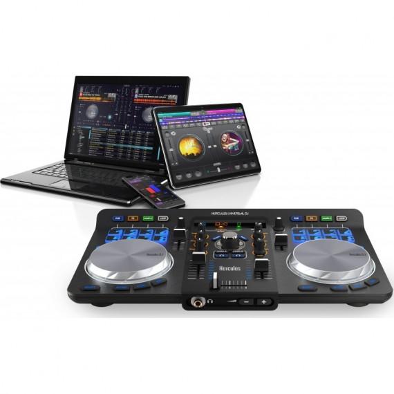 Console DJ compacte USB Hercules Universal DJ