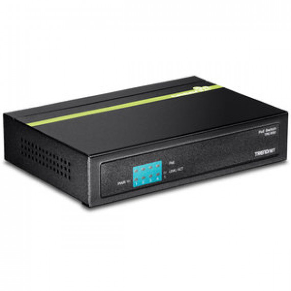 Switch TRENDnet TPE-S50 - 5 ports ethernet 10/100 Mb/s dont 4 ports PoE