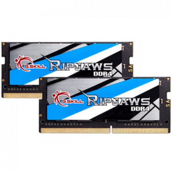 Mémoire RAM G.Skill RipJaws Series SO-DIMM 16 Go (2 x 8 Go) DDR4 2666 MHz CL18 PC4-21300