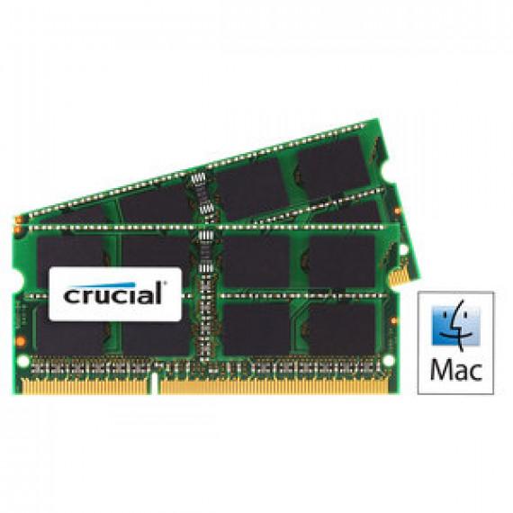 Mémoire RAM Crucial for Mac SO-DIMM 16 Go (2 x 8 Go) DDR3 1866 MHz CL13 PC14900 - CT2C8G3S186DM
