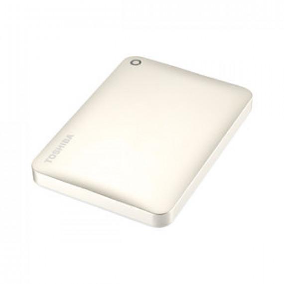 """Disque dur externe Toshiba Canvio Connect II 2 To Doré Satiné 2.5"""" sur port USB 3.0"""
