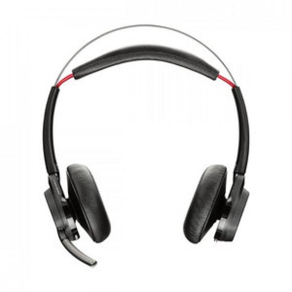 Casque-micro Plantronics Voyager Focus UC B825-M No Stand stéréo Bluetooth avec annulation de bruit pour Microsoft Lync