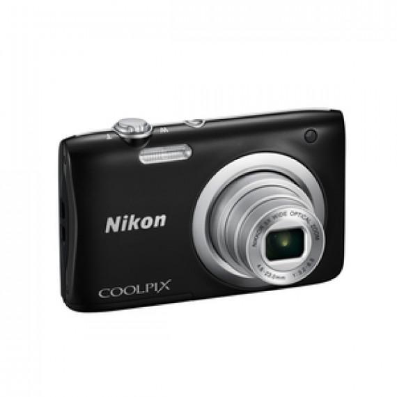 Appareil photo Nikon Coolpix A100 20.1 MP - Zoom optique 5x - Vidéo HD Noir