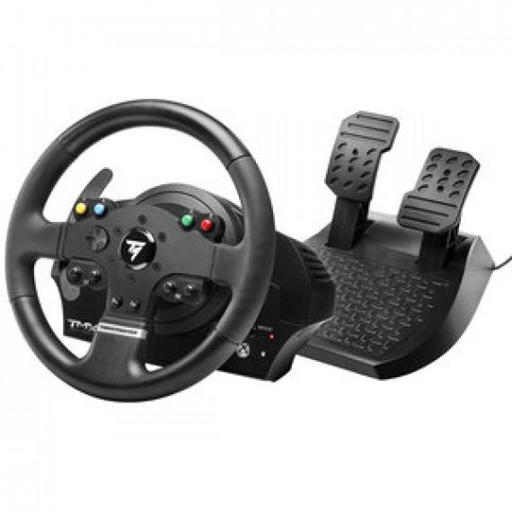 Volant Thrustmaster TMX Force Feedback - Ensemble volant à retour de force + pédalier compatible PC / Xbox One