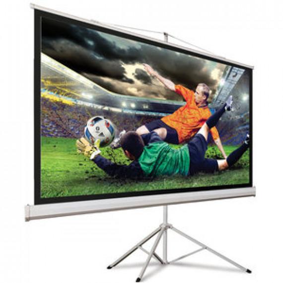 #N/A Hama 00018790 Ecran de projection sur pied 125 x 125 cm Blanc