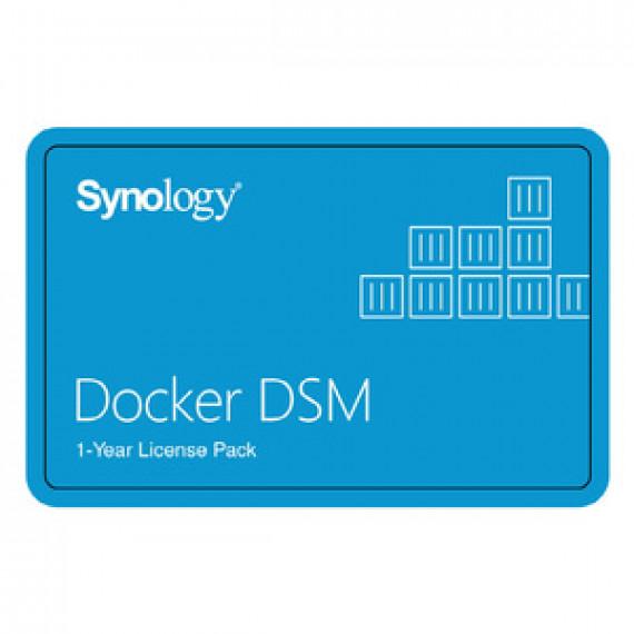 Synology Pack 1 licence Docker DSM pour un 1 an