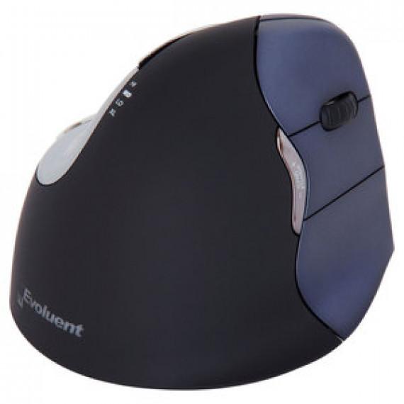 Souris Evoluent VerticalMouse 4 Wireless (pour droitier) - optique ergonomique verticale sans fil à 6 boutons programmables pour droitier
