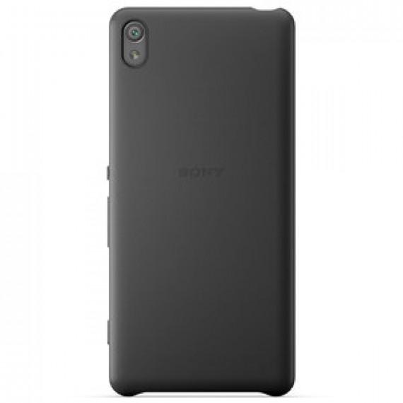 Coque arrière Sony Style Cover SBC26 Noir Sony Xperia XA - blanc pour Sony Xperia XA