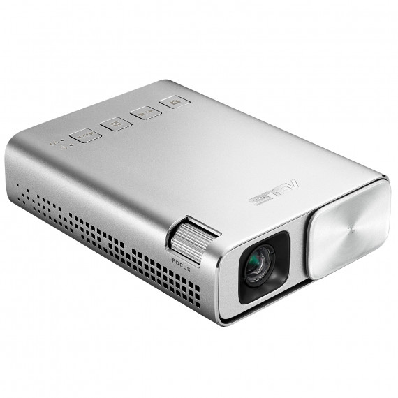 Vidéoprojecteur de poche LED ASUS ZENBEAM E1 DLP WVGA - 150 lumens - focale courte - HDMI/MHL - batterie rechargeable - port USB de charge