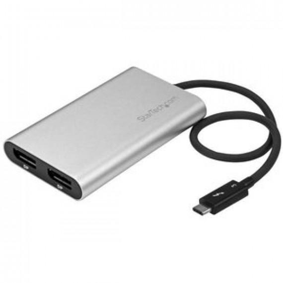 Adaptateur StarTech.com TB32DP2 - Thunderbolt 3 vers double DisplayPort (compatible 4K)