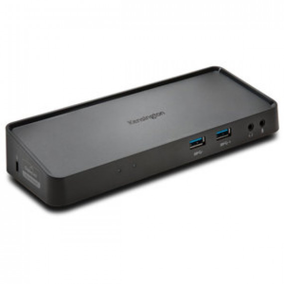 Réplicateur de ports KENSINGTON SD3650 pour ordinateur portable et écran (HDMI / DisplayPort / Ethernet / 2x USB 2.0 / 4x USB 3.0 / Jack + micro)