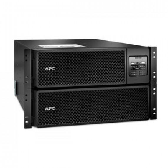 Onduleur APC Smart-UPS SRT 10 000VA RM - on-line double conversion 230V (USB / RJ-45 / SmartSlot) - Rack 6U