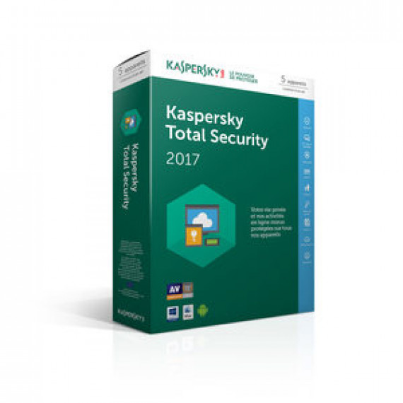 KASPERSKY Internet Security 2017 - Licence 1 poste 1 an