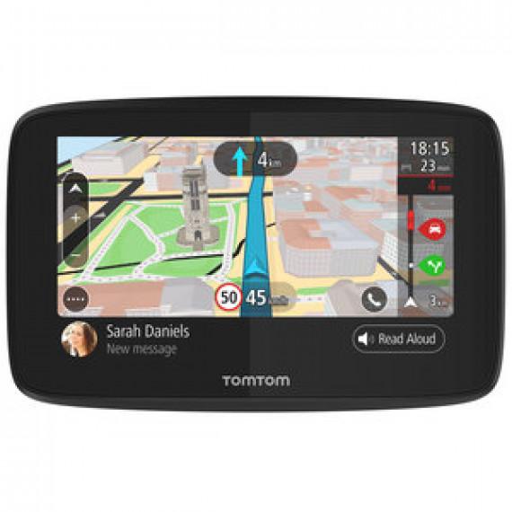 """GPS Monde Ecran 5"""" TomTom GO 520 - Cartographie, Trafic et Zones de danger gratuits à vie - Wi-Fi"""