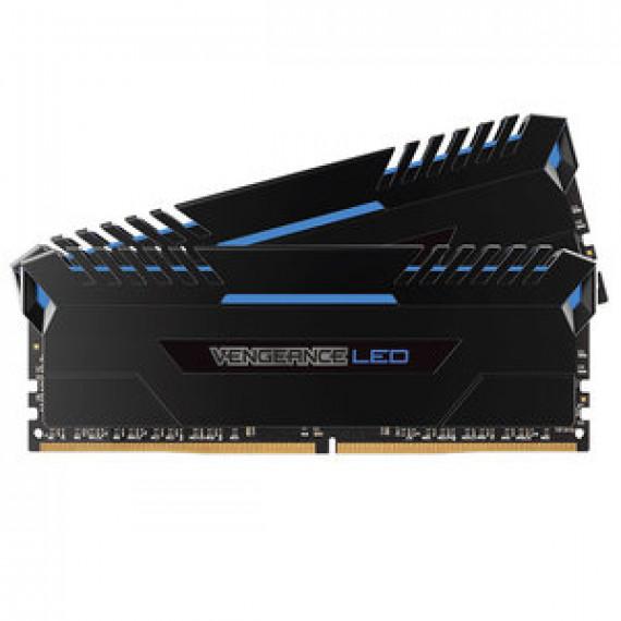CORSAIR Vengeance LED Series 32 Go (2x 16 Go) DDR4 3200 MHz CL16 Bleu