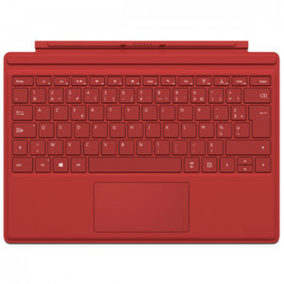 Microsoft Type Cover Surface Pro 4 Rouge