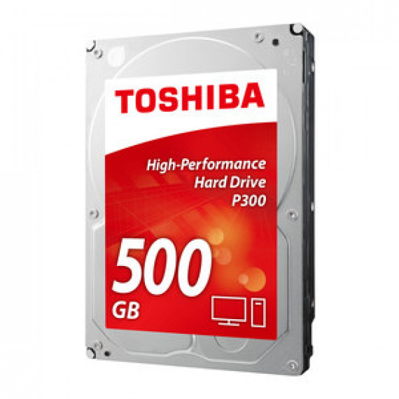 "Disque dur Toshiba P300 500Go (Bulk) - 3.5"" 500 Go 7200 RPM 64 Mo Serial ATA III 6 Gb/s (version bulk)"