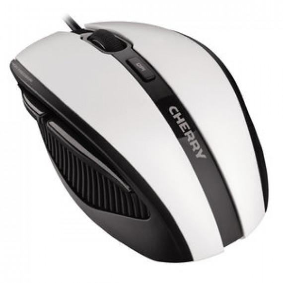 Souris filaire CHERRY MC 3000 (BLANC) - droitier - capteur optique 1000 dpi - 5 boutons